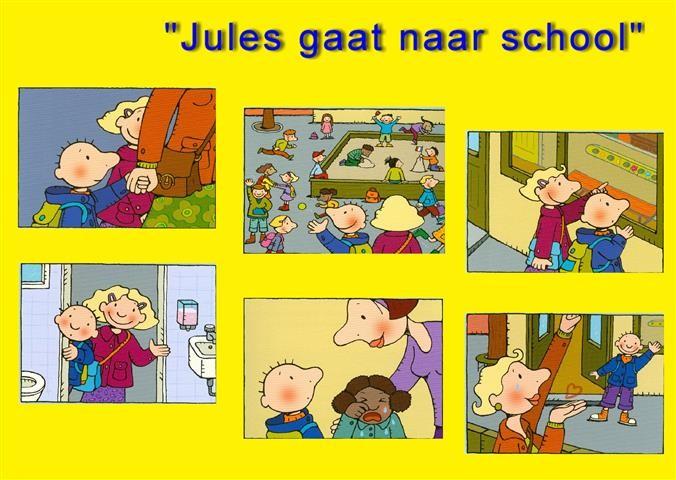 Afbeeldingsresultaat voor jules naar school