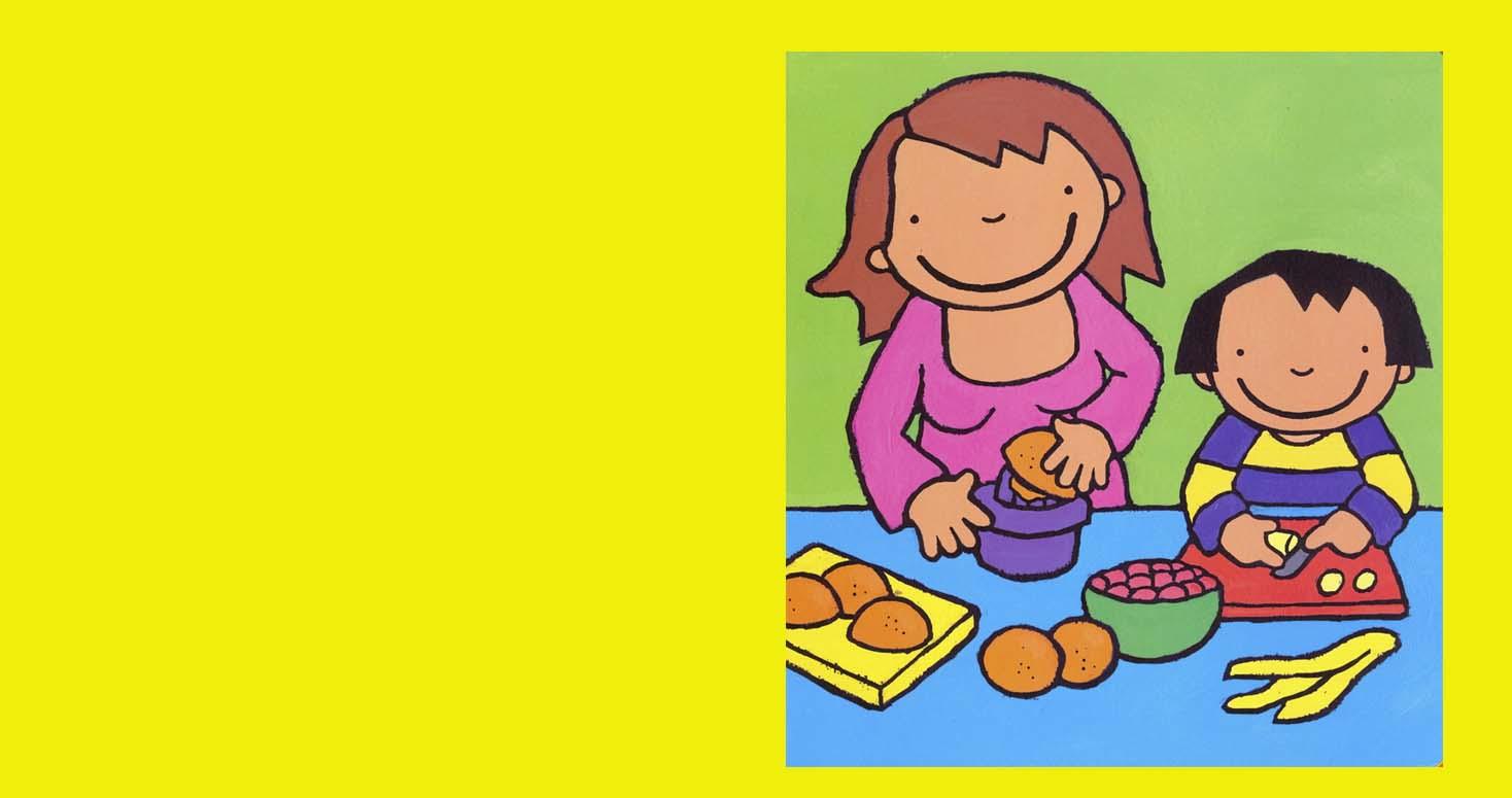 Welp 2K Thema : Fruit en groenten zijn gezond, zo eten we ons buikje OI-79